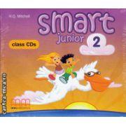 Smart Junior 2 Class CDs ( editura : MM Publications , autor : H.Q. Mitchell , ISBN 978-960-443-822-8 )