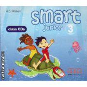 Smart Junior 3 Class CDs ( editura : MM Publications , autor : H.Q. Mitchell , ISBN 978-960-443-828-0 )