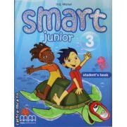 Smart Junior 3 - Student ' s Book ( editura : MM Publications , autor : H.Q. Mitchell , ISBN 978-960-443-824-2 )
