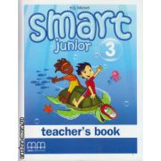 Smart Junior 3 - Teacher's book ( editura : MM Publications , autor : H.Q. Mitchell , ISBN 978-960-443-826-6 )