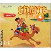 Smart Junior 4 Class CDs ( editura : MM Publications , autor : H.Q. Mitchell , ISBN 978-960-443-834-1 )