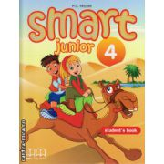 Smart Junior 4 - Student ' s Book ( editura : MM Publications , autor : H.Q. Mitchell , ISBN 978-960-443-830-3 )