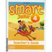 Smart Junior 4 - Teacher's book ( editura : MM Publications , autor : H.Q. Mitchell , ISBN 978-960-443-832-7 )