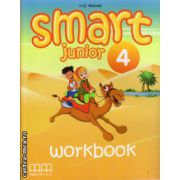 Smart Junior 4 - Workbook with CD ( editura : MM Publications , autor : H.Q. Mitchell , ISBN 978-960-443-831-0 )