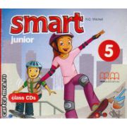 Smart Junior 5 Class CDs ( editura : MM Publications , autor : H.Q. Mitchell , ISBN 978-960-478-490-5 )