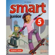 Smart Junior 5 - Student ' s Book ( editura : MM Publications , autor : H.Q. Mitchell , ISBN 978-960-478-168-3 )