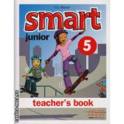 Smart Junior 5 - Teacher's book ( editura : MM Publications , autor : H.Q. Mitchell , ISBN 978-960-478-170-6 )