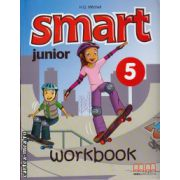 Smart Junior 5 - Workbook with CD ( editura : MM Publications , autor : H.Q. Mitchell , ISBN 978-960-478-169-0 )