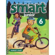 Smart Junior 6 - Student ' s Book ( editura : MM Publications , autor : H.Q. Mitchell , ISBN 978-960-478-539-1 )