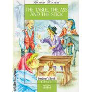 Graded Readers - The Table, The Ass and The Stick - level 1 reader PACK including : Reader , Activity book and Audio CD ( editura : MM Publications , ISBN 978-960-379-474-5 )