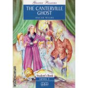 Graded Readers - The Canterville Ghost - level 3 reader PACK including : Reader , Activity book and Audio CD ( editura : MM Publications , autor : Oscar Wilde , ISBN 978-960-379-476-9 )