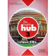 The English Hub 3 Class CDs ( editura : MM Publications , ISBN 978-960-509-863-6 )