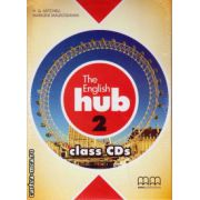 The English Hub 2 Class CDs ( editura : MM Publications , autor : H.Q. Mitchell , ISBN 978-960-509-862-9 )