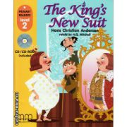 Primary Readers - The King's new suit - Level 2 reader with CD ( editura : MM Publications , autor : Hans Christian Andersen , ISBN 978-960-478-305-2 )