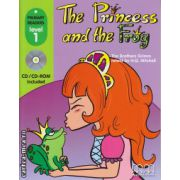 Primary Readers - The Princess and the Frog - Level 1 reader with CD ( editura : MM Publications , autor : Fratii Grimm , ISBN 978-960-443-467-1 )