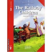 Top Readers - The Railway Children - Level 2 reader Pack : including glossary + CD ( editura : MM Publications , autor : Edith Nesbit , ISBN 978-960-443-301-4 )