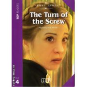 Top Readers - The Turn of the Screw - Level 4 reader Pack : including glossary + CD ( editura : MM Publications , autor : Henry James , ISBN 9789604780198 )