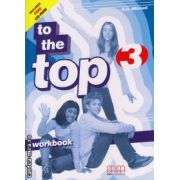 To the Top 3 - Workbook with CD ( editura : MM Publications , autor : H.Q. Mitchell , ISBN 978-960-379-874-3 )