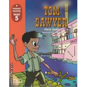 Primary Readers - Tom Sawyer - Level 5 reader ( editura: MM Publications, autor: Mark Twain, ISBN 978-960-379-834-7 )