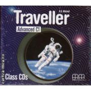 Traveller Advanced C1 Class CDs ( editura: MM Publications, ISBN 978-960-443-628-6 )