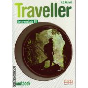 Traveller Intermediate B1 workbook with CD ( editura : MM Publications , autor : H.Q. Mitchell , ISBN 978-960-443-590-6 )
