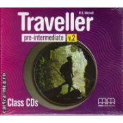 Traveller Pre-Intermediate Class CDs ( editura : MM Publications , autor : H.Q. Mitchell , ISBN 978-960-443-586-9 )