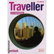 Traveller Pre - Intermediate workbook with CD ( editura: MM Publications, autor: H. Q. Mitchell, ISBN 978-960-443-582-1 )