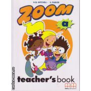 Zoom A - Teacher's book ( editura : MM Publications , autor : H.Q. Mitchell , S. Parker , ISBN 9789603790426 )