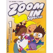 Zoom In 1 Special - Student ' s Book + Workbook ( editura : MM Publications , autor : H.Q. Mitchell , S. Parker , ISBN 978-960-443-706-1 )