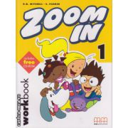 Zoom In 1 - Workbook with CD ( editura : MM Publications , autor : H.Q. Mitchell , S. Parker , ISBN 978-960-379-259-8 )
