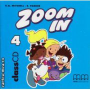 Zoom In 4 Class CDs ( editura : MM Publications , autor : H.Q. Mitchell , ISBN 978-960-379-292-5 )