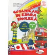 Comunicare in Limba Engleza caiet pentru clasa a II a partea I  ( Editura  : Aramis , Cristina Johnson , Corina Cigan ISBN 978-606-706-094-2 )