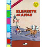 Elemente grafice 6 -7 ani clasa zero ( Editura: Aramis ISBN 973-679-257-9 )
