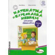 Matematica si explorarea mediului caiet pentru clasa a II a partea II ( Editura : Aramis , Autor  : Anina Badescu , Mihaela - Ada Radu ISBN 978-606-706-107-9 )