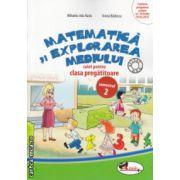 Matematica si explorarea mediului caiet pentru clasa pregatitoare partea II ( Editura : Aramis , Autor : Mihaela - Ada Radu , Anina Badescu ISBN 978-606-706-106-2 )
