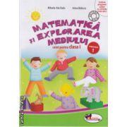 Matematica si explorarea mediului caiet pentru clasa I partea I  ( Editura : Aramis , Autor : Mihaela - Ada Radu , Anina Badescu ISBN 978-606-706-058-4 )
