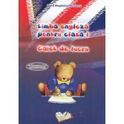 Limba engleza pentru clasa I caiet de lucru ( Editura: Ars Libri, Autor: Maria Magdalena Nicolescu ISBN 978-606-574-391-5 )