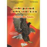 Limba germana pentru clasa a II a caiet de lucru ( Editura: Ars Libri, Autor: Loredana Elena Istrate Anghel, Cristina Fuscel ISBN 978-606-574-643-5 )