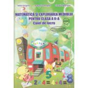 Matematica si explorarea mediului pentru clasa a II a caiet de lucru ( Editura: Ars Libri, Autor: Adina Grigore, Augustina Anghel, Claudia Negritoiu ISBN 978-606-574-425-7 )