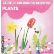 Plante carte de colorat cu ghicitori ( Editura : Ars Libri , Autor : Adina Grigore ISBN 978-606-574-232-1 )