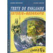 Teste de evaluare istorie geografie clasa a IV a ( Editura : Ars Libri , Autor : Adina Grigore , Elena Chivu ISBN 978-606-574-044-0 )