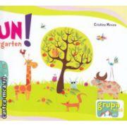 Fun at Kindergarten  grupa mica ( Editura : Booklet , Autor : Cristina Mircea  ISBN 978-606-590-207-7 )