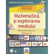 Matematica si explorarea mediului manual pentru clasa a II a Partea a II a cu CD ( Editura: DPH, Autor: Stefan Pacearca, Mariana Mogos ISBN 978-606-683-201-4-X )