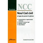Noul Cod civil si Legea de punere in aplicare 26 Ianuarie 2015 ( Editura: Hamangiu ISBN 978-606-27-0109-3 )