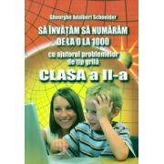 Sa invatam sa numaram de la 0 la 1000 cu ajutorul problemelor de tip grila clasa a II a ( Editura: Hyperion, Autor: Gheorghe Adalbert Schneider ISBN 978-606-589-034-3 )