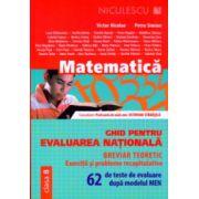 Ghid pentru evaluarea nationala matematica 62 de teste ( Editura: Niculescu, Autor: Victor Nicolae, Petre Simion ISBN 978-973-748-879-4 )
