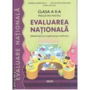 Pregatire pentru Evaluarea Nationala Matematica si explorarea mediului clasa a II a ( Editura : Sigma , Autor : Gabriela Barbulescu , Magdalena Bogheanu , Elena Niculae ISBN 978-606-727-040-2 )