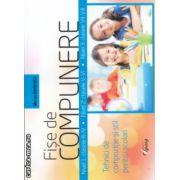 Fise de compunere Tehnici de compozitie si stil pentru scolari ( Editura : Tiparg , Autor Marian Mihaescu ISBN 978-973-735-797-7 )
