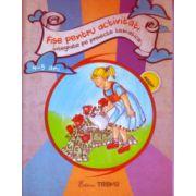 Fise pentru activitati integrate pe proiecte tematice 4 - 5 ani ( Editura: trend, Elena Bolanu ISBN 978-606-8664-01-9 )