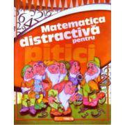 Matematica distractiva pentru pitici ( Editura: Trend, Autor: Ilinca Neacsu ISBN 978-606-8664-06-4 )